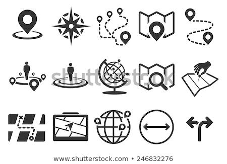 магазине расположение икона бизнеса серый кнопки Сток-фото © WaD