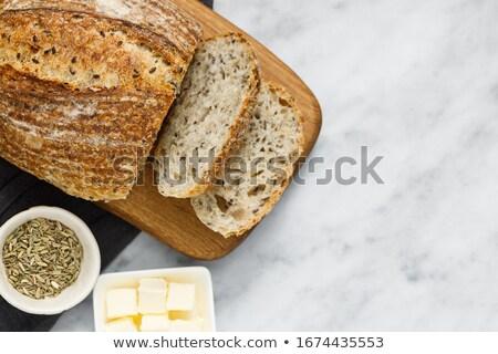 Organik ekmek iş alışveriş pişirme taze Stok fotoğraf © IS2