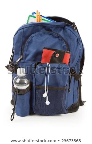 Könyv táska mp3 fehér Stock fotó © devon
