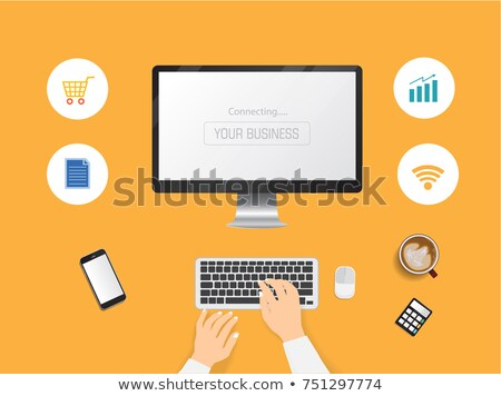 残業 · 実例 · ビジネスマン · 余分な · 時間 · オフィス - ストックフォト © toyotoyo