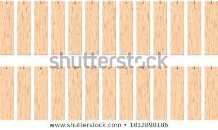 Wooden Board Menu of Restaurant Isolated Item Stock photo © robuart
