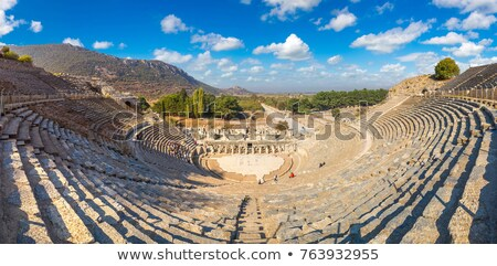 Amphitheater (Coliseum) in Ephesus Stock photo © bloodua