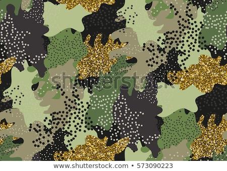 軍 ファブリック テクスチャ ブラウン 森林 ストックフォト © SArts