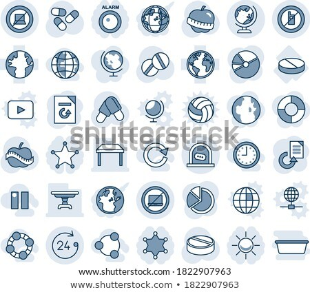 notebook · számítógép · Föld · izolált · fehér · terv - stock fotó © wad
