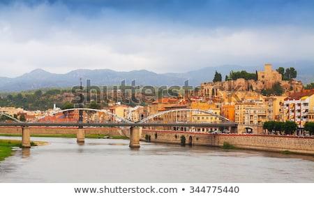 Stok fotoğraf: İspanya · katedral · ön · plan · nehir