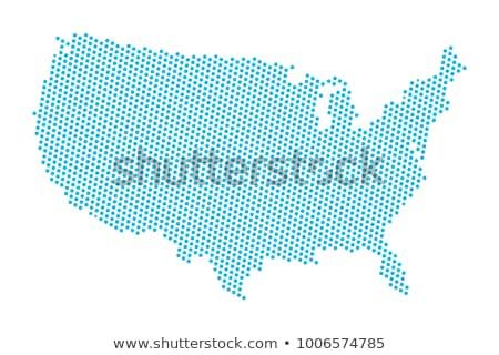 Mapa EE.UU. idea diseno fondo educación Foto stock © kiddaikiddee