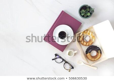 два свежие белый пластина Сток-фото © raphotos