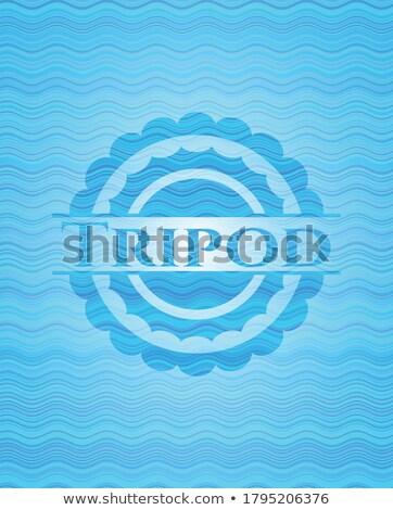 óceán címer absztrakt víz fény felhők Stock fotó © nicemonkey
