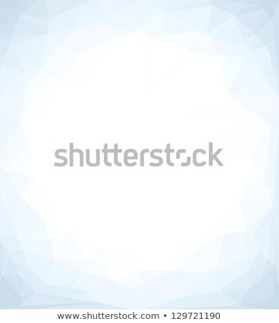 Winter blue mosaic background with white copy space. Stock photo © tuulijumala