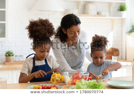 Mother With Two Sons Stock photo © IS2