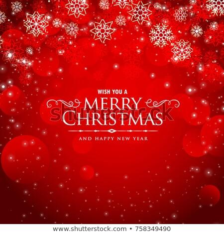 Stock fotó: Vidám · karácsony · piros · klassz · üdvözlet · terv