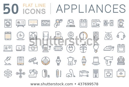 Appliances for Smart Home, Gadgets Collection Stock photo © robuart