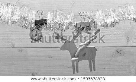silver ball rider Stock photo © dolgachov