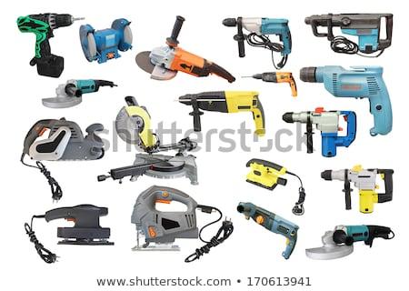 électriques · vu · blanche · maison · aider · outil - photo stock © shutswis