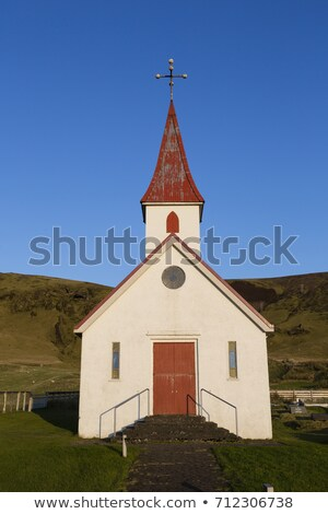 Ancient  rural wooden church Stock photo © vavlt