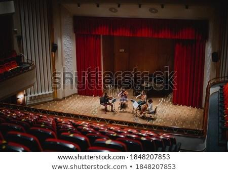 Three musicians rehearsing Stock photo © photography33