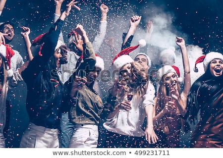 группа Рождества женщины красивой три Сток-фото © zdenkam