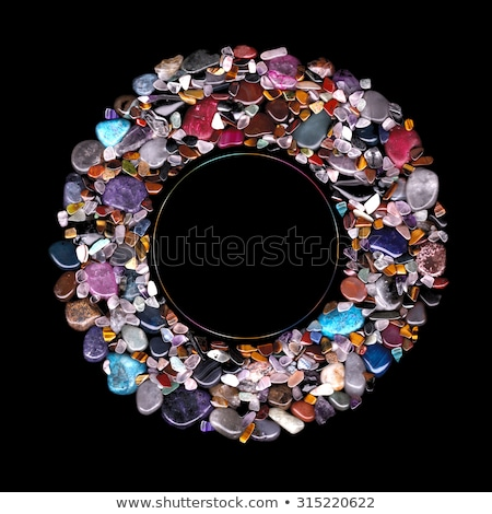 Taş doğa kaya kırmızı kristal Stok fotoğraf © pixelman