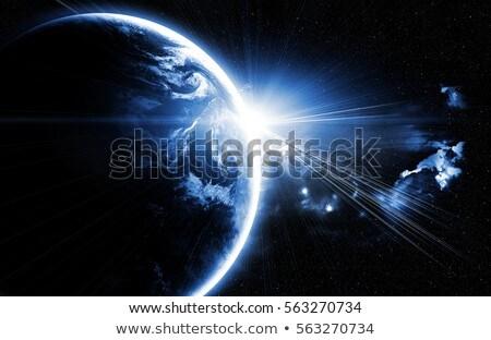 галактики · туманность · аннотация · пространстве · Элементы · изображение - Сток-фото © NASA_images