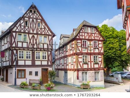 casa · Germania · storico · costruzione · città · muro - foto d'archivio © borisb17