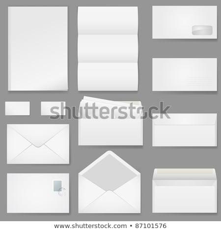 Unterschiedlich Typ Korrespondenz Entwicklung Briefe Lieferung Stock foto © jossdiim
