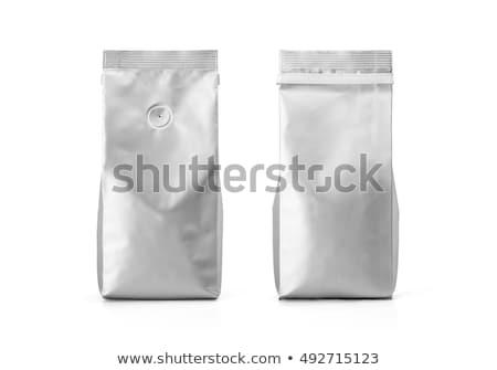 Sacking Pack for tea or coffee Stock photo © Arsgera
