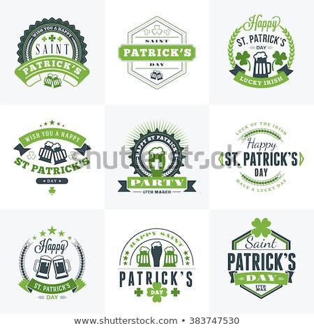 Dia retro verde seis Foto stock © ShustrikS