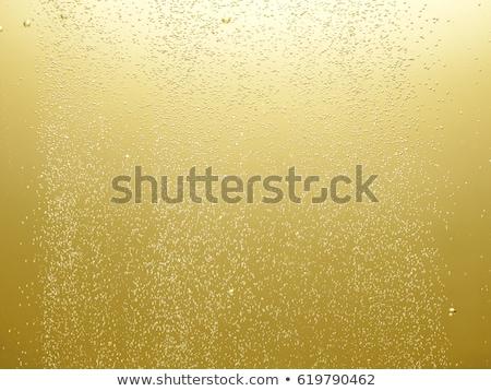 közelkép · buborékok · üveg · pezsgő · fehér · buli - stock fotó © pressmaster