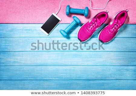 スポーツ 生活 アクティブ ライフスタイル スポーティー 女性 ストックフォト © Anna_Om