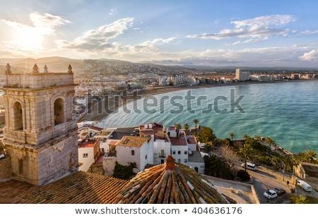 法王 · 城 · スペイン · 表示 · バレンシア · 最後 - ストックフォト © aladin66