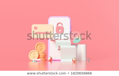 Electronic business card Stock photo © bloomua
