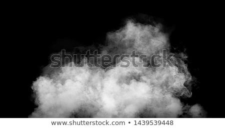 nero · fumo · astrazione · bianco · luce - foto d'archivio © arsgera