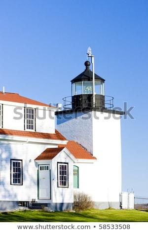 latarni · fort · punkt · świetle · Maine · USA - zdjęcia stock © phbcz