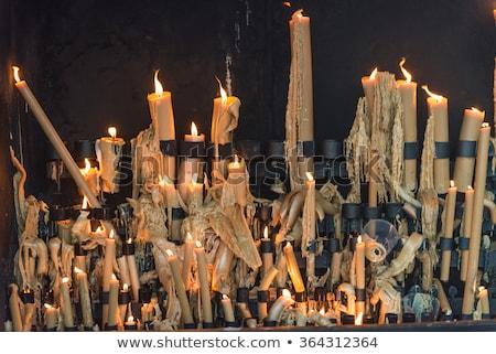 キャンドル ポルトガル キャンドル 宗教 信仰 屋外 ストックフォト © phbcz