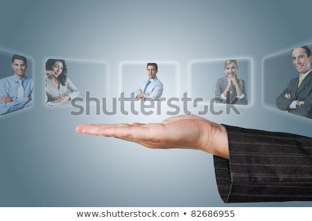 Human Resources concept: choosing the perfect candidate for the  Stock photo © scornejor