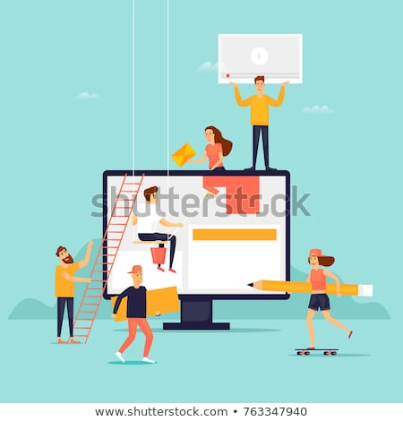 Stock foto: Make A Website