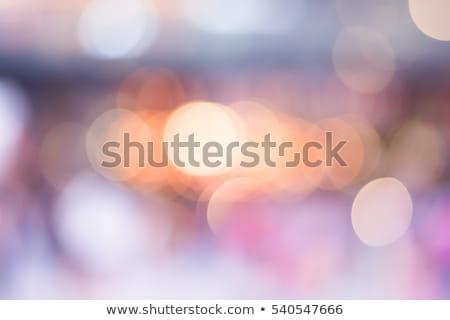 abstract · Blauw · lichten · winter · kleuren - stockfoto © nikdoorg