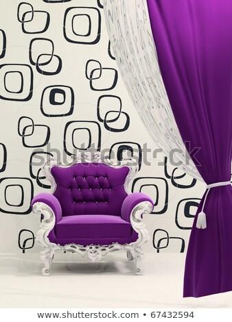 királyi · bútor · luxus · barokk · belső · fal - stock fotó © victoria_andreas