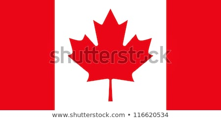 vlag · Quebec · Canada · stad · wind · land - stockfoto © daboost