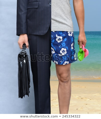 formal man on beach stock photo © curaphotography