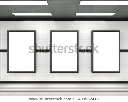 Underground Train Station Stock photo © davidgn