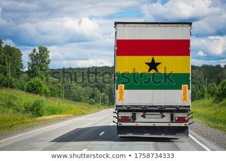 Transporte país nacionalidad símbolo ilustración Foto stock © ajlber