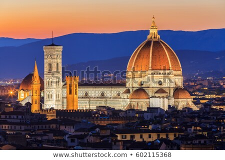 détail · architectural · FLORENCE · Italie · construction · pierre · architecture - photo stock © angelp