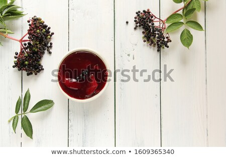 Elderberry soup Stock photo © joker