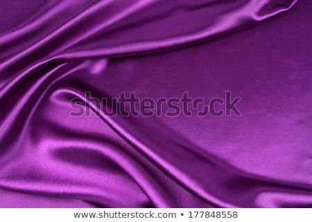 paars · satijn · materiaal · mode · ontwerp · weefsel - stockfoto © tdoes