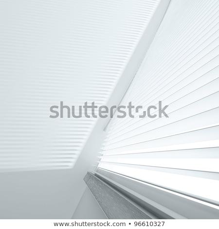 Diagonal intérieur aveugle vue résumé lumière Photo stock © Procy