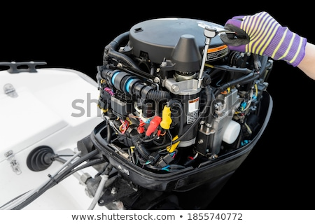 Motorboat  Stock photo © timbrk