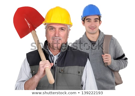 experienced tradesman standing in front of his apprentice stock photo © photography33