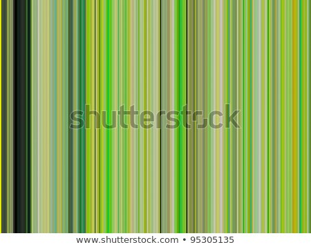 backdrop 3d render of shaded tubes in different green Stock photo © Melvin07