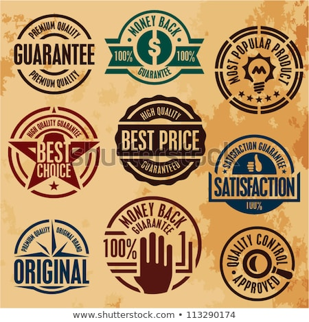 Vintage premium quality and most popular labels. Stock photo © szabore